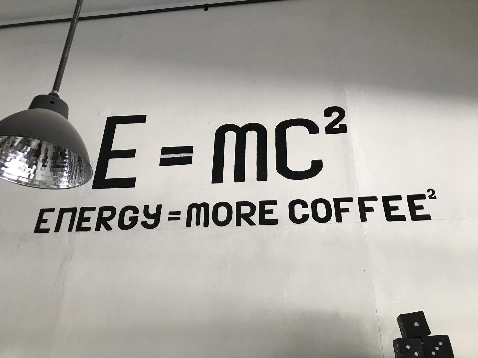 インドネシアのユーモアはカフェにある