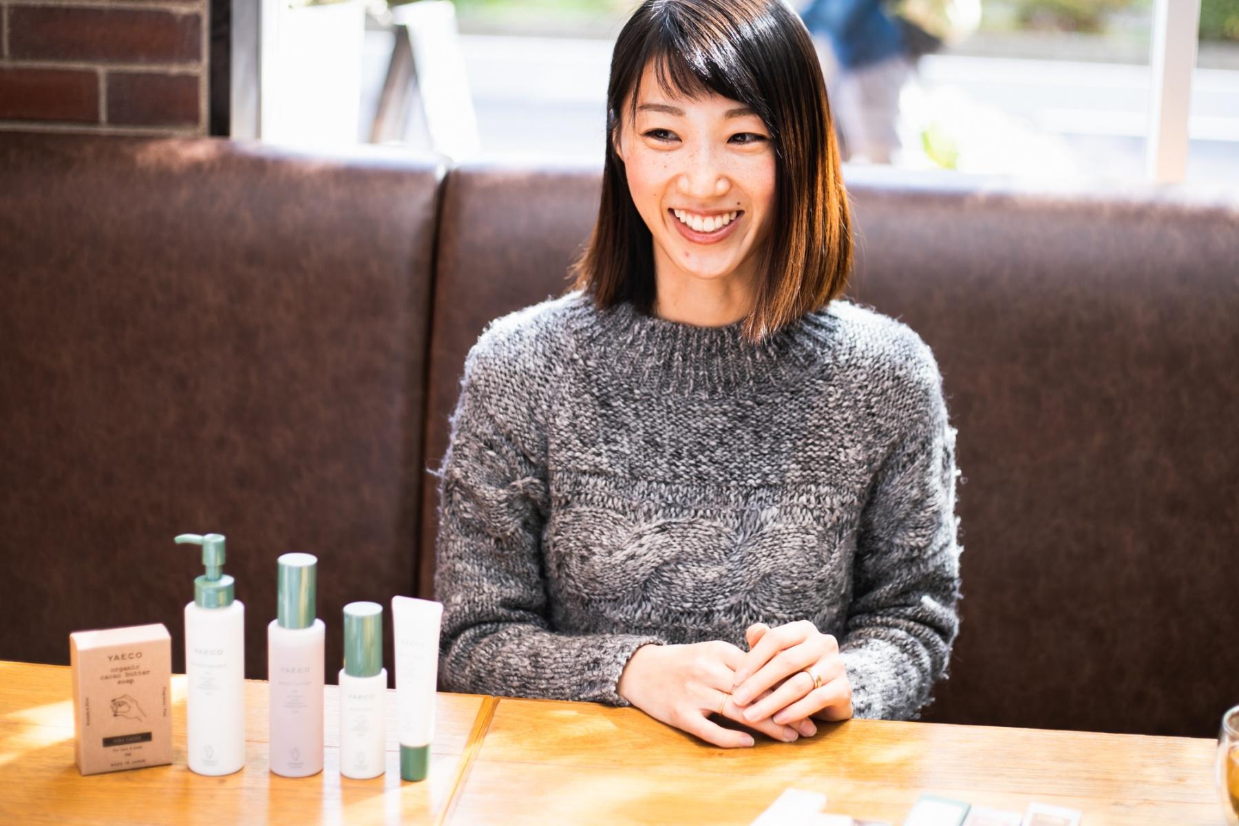 日本初!カカオ原料のスキンケアブランドを開発した女性、勇綾香さんインタビュー