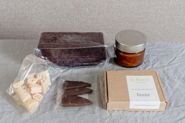 お取り寄せのチョコ菓子・カカオ菓子②ル フルーヴ「シェフの気まぐれ不定期便」