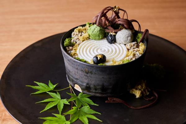 食べるのがもったいない!アマン京都から優美すぎる「庭パフェ Zen Garden」が期間限定販売