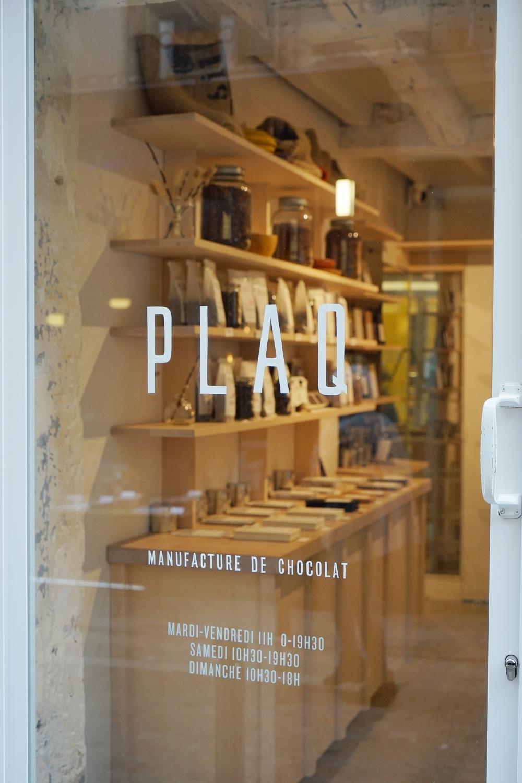 PLAQ、パリ二区、スタイリッシュなビーントゥバー