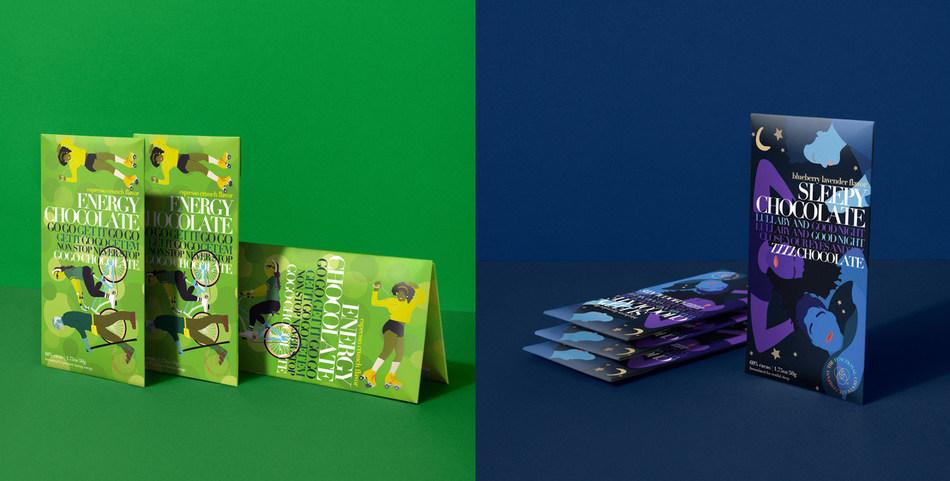 【海外】元気をくれるエナジーチョコ、良質な睡眠を促すスリーピーチョコ。ビーガン&フェアトレードな機能性チョコが誕生!