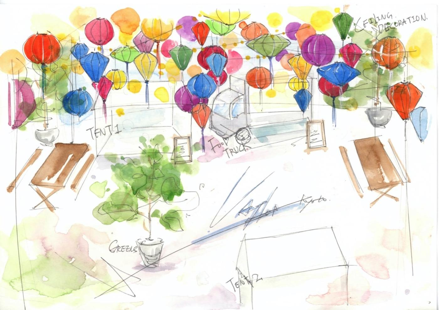京都・四条河原町にて食の夏祭り!「GOOD NATURE OPEN FES~今年は色とりどりのランタンを楽しもう~」