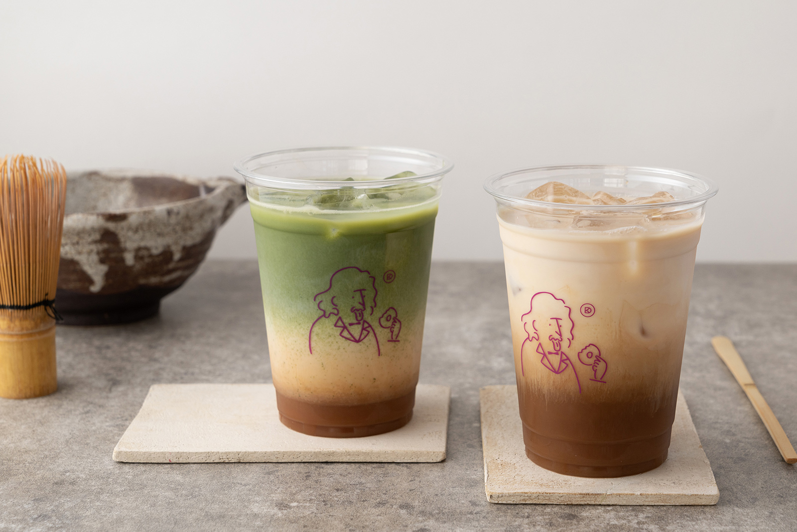 koe donuts kyoto × MILK TEA SERVICE × YUGEN のトリプルコラボ! 日本茶とミルクティーの融合を楽しんで