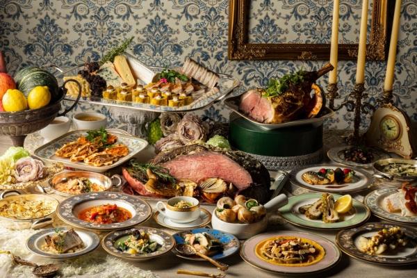 ヒルトン名古屋オータムランチ&ディナービュッフェ「フランス料理」と「発酵」の融合を豊富な旬の食材で楽しむ