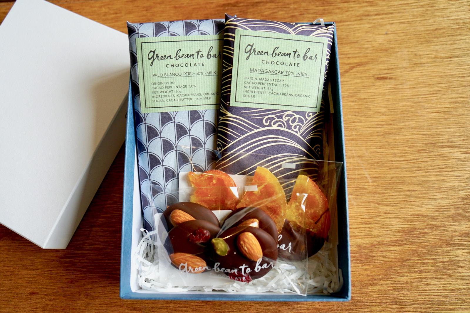 """グリーン ビーン トゥ バー チョコレート""""カカオ豆本来のフルーティな味を堪能できる受賞作セット。本物志向のこだわり派に"""""""