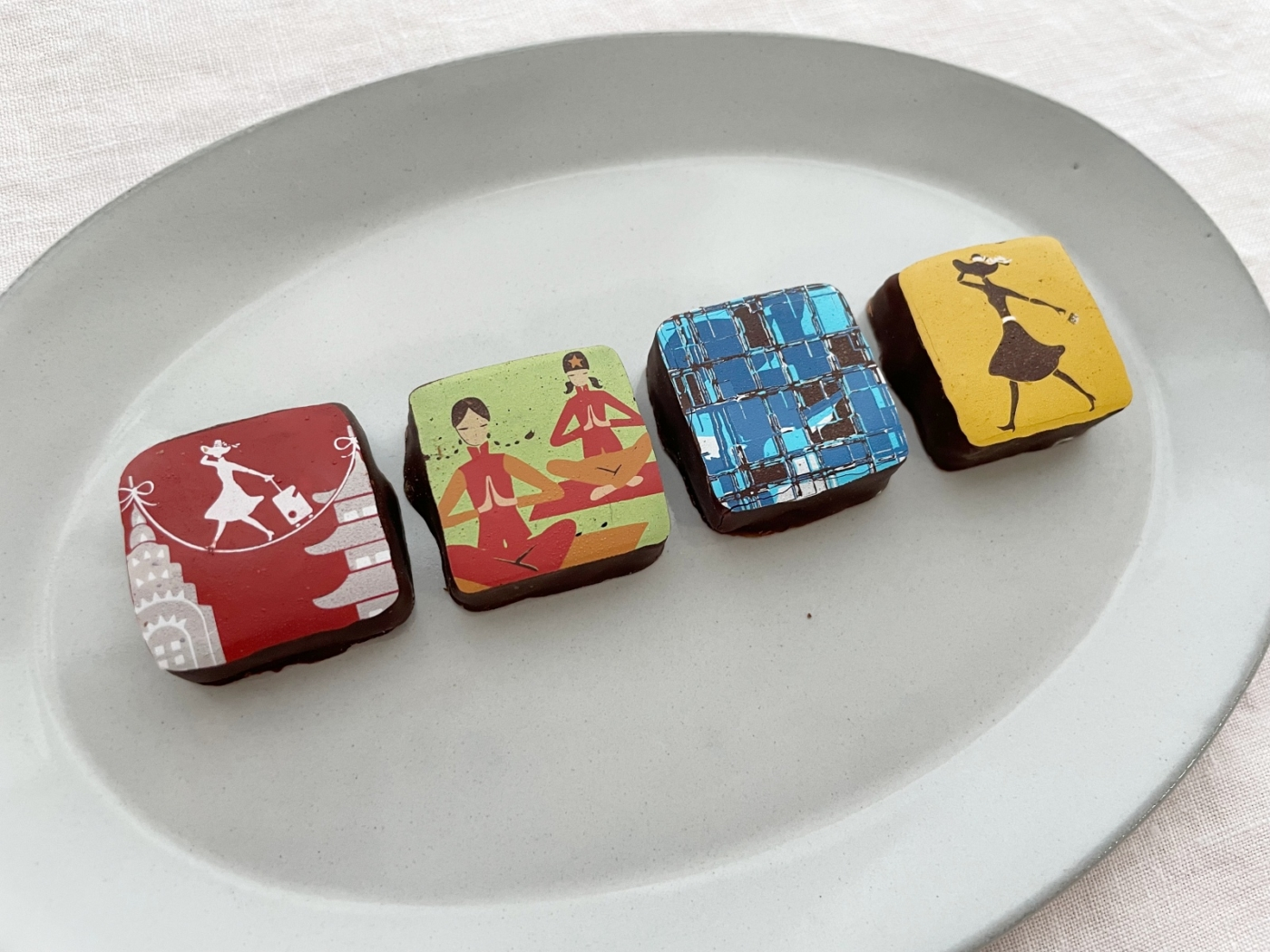 """マリベル""""かわいいもの好きの心を掴む、愛らしいイラストのガナッシュチョコレート"""""""