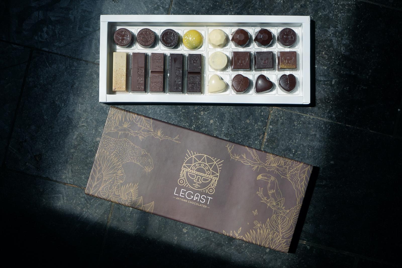 ベルギーから届いたラブストーリー、ショコラトリー「Legast(レガスト)」